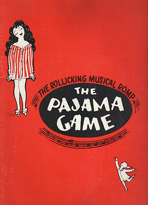 "Liza Minnelli   Souvenir Program   ""The Pajama Game""  1966 Stock"