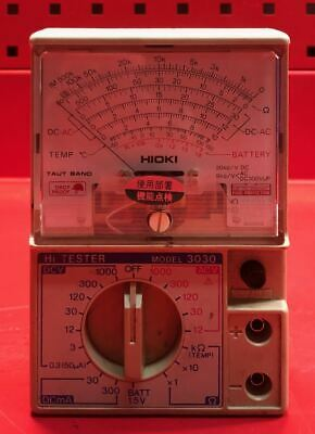 Hioki 3030 Hi Tester Analog Multimeter