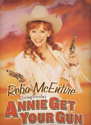 "Reba McEntire  ""Annie Get Your Gun""  Souvenir Program   2001   Irving Berlin"