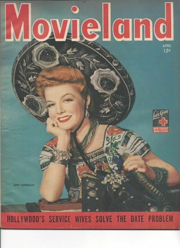 Ann Sheridan - Movieland - April 1944