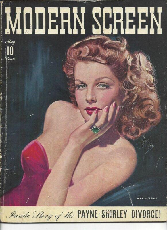Ann Sheridan - Modern Screen - May 1942