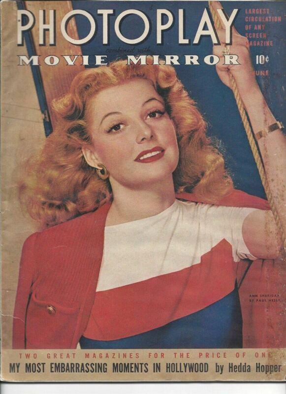 Ann Sheridan - Photoplay - June 1942
