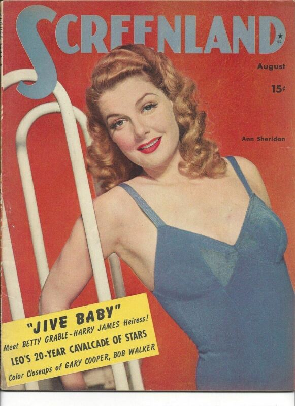 Ann Sheridan - Screenland - August 1944