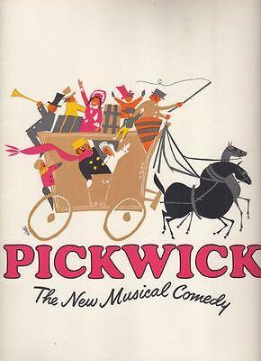 "David ""Davy"" Jones  ""Pickwick""  Souvenir Program  1965  TRYOUT  Harry Secombe"