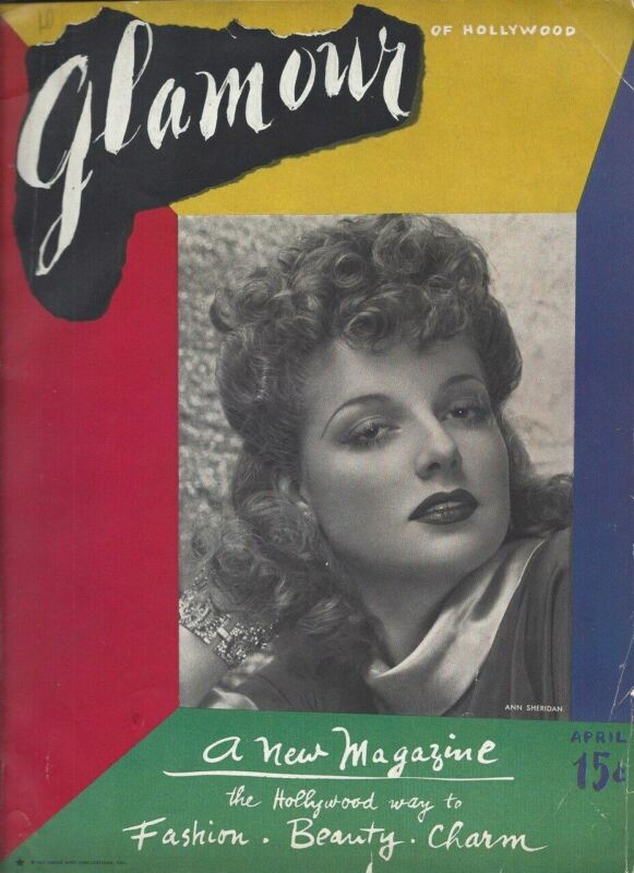 Ann Sheridan - Glamour of Hollywood - April 1939