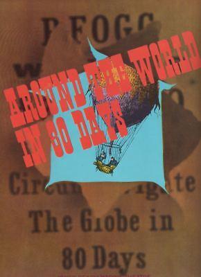 """Around The World in 80 Days""  Souvenir Program 1964  Fritz Weaver, Robert Clary"