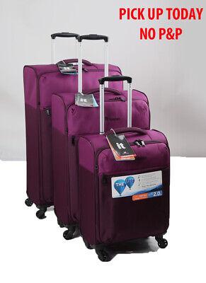 It Luggage The PRISMALITE Medium 4 Wheel Soft Suitcase - Purple