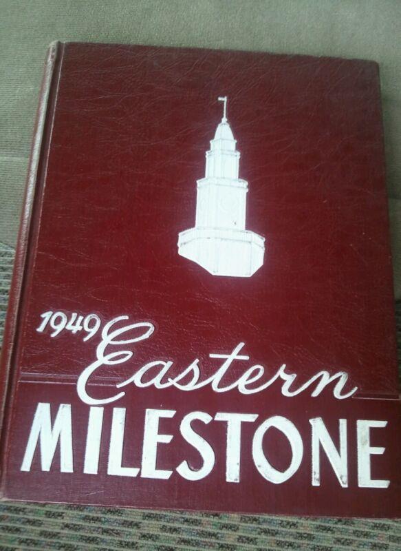1949 EASTERN KENTUCKY STATE TEACHERS COLLEGE YEARBOOK - MILESTONE - II 7195