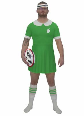 Mens Green Ireland Rugby Dress All Nations Sports Irish Supporters Fancy - Kostüm Aller Nationen