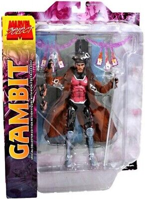 "Marvel Select GAMBIT 8"" Action Figure X-Men NEW unopened Diamond Select Toys"