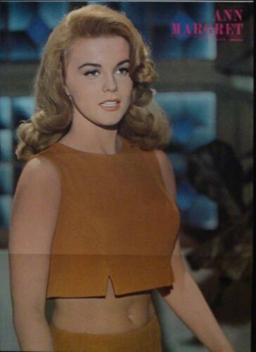 ANN-MARGRET Japanese Personality poster A 1964 10x14
