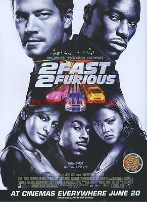 2 Fast 2 Furious Cinema 2003 Magazine Advert #163