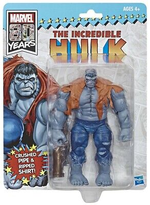 Marvel Legends NEW * Grey Hulk * 6-Inch Exclusive Retro Action Figure