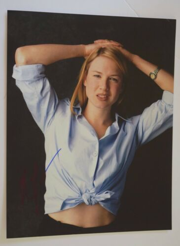 Renee Zellweger Signed Autographed 11x14 Photo Bridget Jones's Diary COA VD