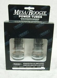 Mesa Boogie 6L6 GC STR 440 power tubes matched set Match Group RED