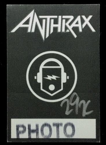 ANTHRAX  VIP / PHOTO / TOUR PASS