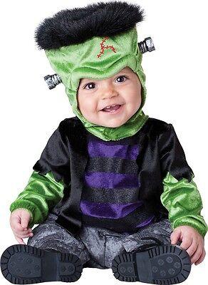 Baby Jungen Mädchen Frankenstein Halloween Monster Kostüm Kleid Outfit - Baby Jungen Monster Kostüm