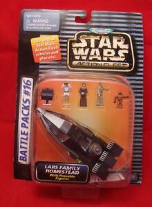 Star Wars Action Fleet Lars Family Homestead Battle Packs #16