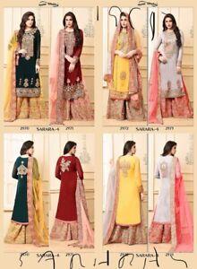 Indian ladies traditional outfit plazo garara sarara Lehnga