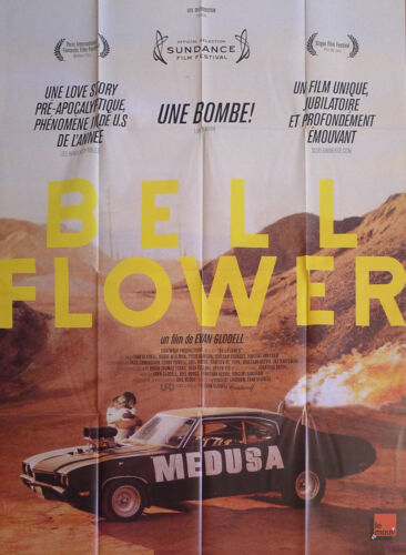 BELLFLOWER - CAR / DESERT- DAWSON / WISEMAN - ORIGINAL LARGE FRENCH MOVIE POSTER
