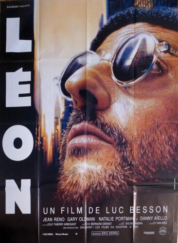 LEON - THE PROFESSIONAL - BESSON / PORTMAN / RENO - ORIGINAL LARGE MOVIE POSTER