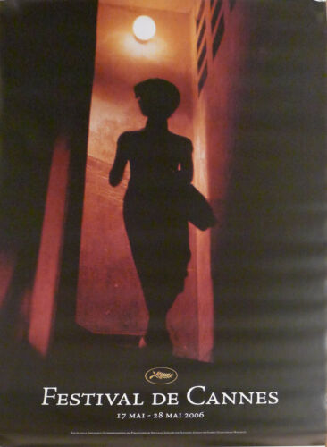 IN THE MOOD FOR LOVE - CANNES FILM FESTIVAL 2006 - WONG KAR WAI -ORIGINAL POSTER