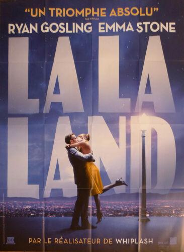 LA LA LAND - STONE / GOSLING - MUSICAL - ORIGINAL LARGE FRENCH MOVIE POSTER