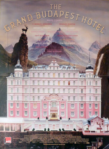 THE GRAND BUDAPEST HOTEL - ANDERSON / FIENNES -ORIGINAL SMALL MOVIE POSTER