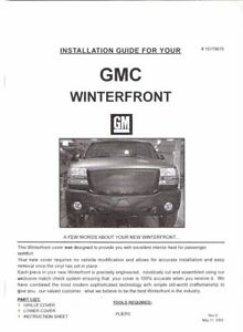 GMC 2500 HD winter front