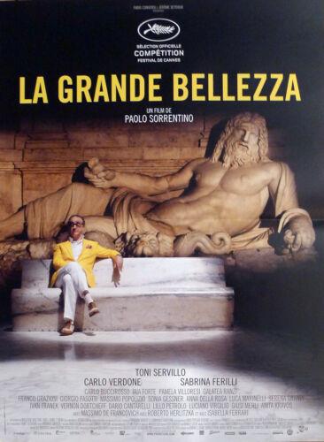 LA GRANDE BELLEZZA - THE GREAT BEAUTY - SORRENTINO - ORIGINAL SMALL MOVIE POSTER