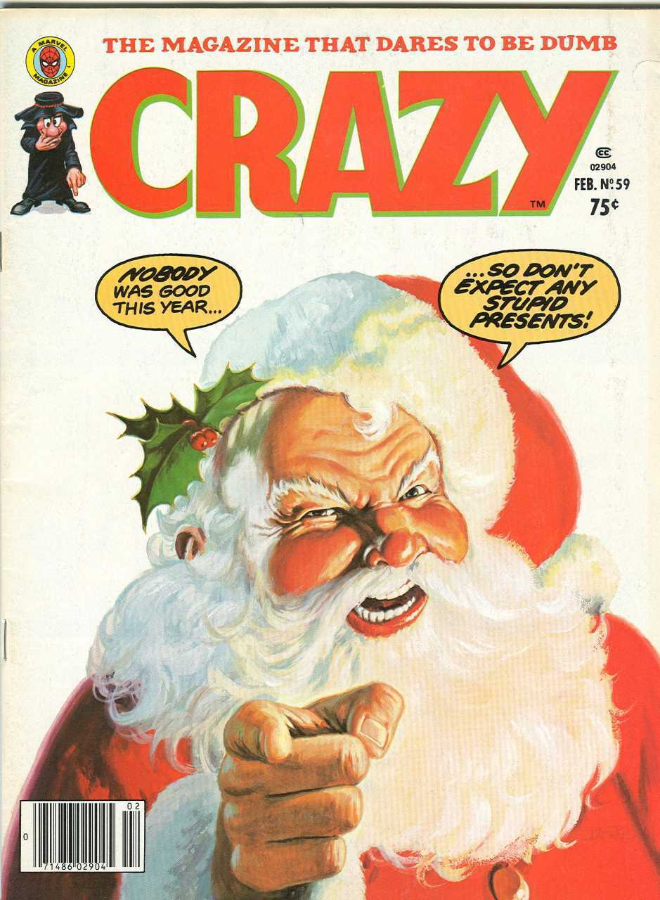 Crazy 90 Issue Collection B&W Satire & Humor On DVD-ROM Disc