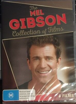Mel Gibson Collection Of Films (DVD, 2016, 4-Disc Set) BRAND NEW & SEALED