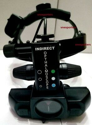 Indian Wireless Indirect Ophthalmoscope With 20d Lens And 2 Scleral Depressors