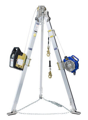 Dbi Salalift Ii Winch 7 Tripod Srl Ppe Confined Space Recovery Over 8k New