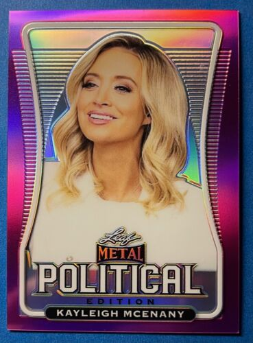 KAYLEIGH MCENANY  2020 LEAF METAL PINK PRISMATIC CARD TRUE # 1 / 15
