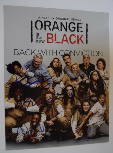 ORANGE IS THE NEW BLACK Cast Signed Autographed 11x14 Photo by 4 COA VD