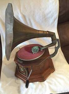 Antique Gramophone His Masters Voice Fingal Bay Port Stephens Area Preview