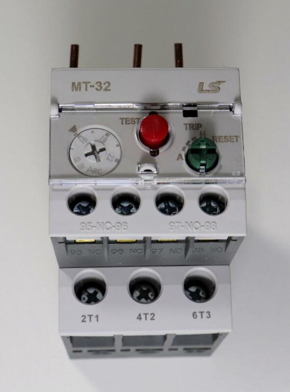 LS MT-32/2H Thermal Overload Protection Relay MT Type Class 10A 2 bimetal heater