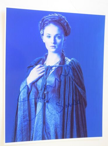 Sophie Turner Signed Autographed 11X14 Photo Game of Thrones Sansa Stark COA VD