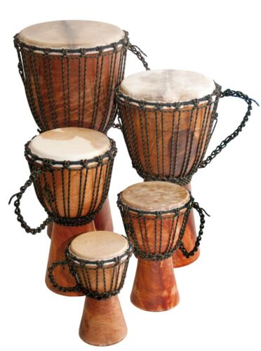 "Djembe Beginner Plain, 24"" tall, 9-10.5"" head"