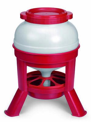 Little Giant Domefdr35 Plastic 35 Lb. Dome Feeder