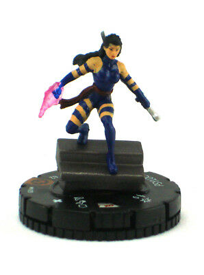 Marvel Heroclix X-Men Psylocke #M-020 Figure Limited Edition LE OP Kit with Card
