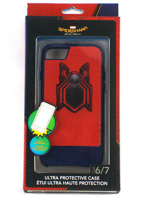 iPhone 6/7 Spider-Man Homecoming Ultra Protective Case Shock Absorbent New