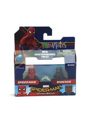 Marvel Minimates Spider Man   Shocker Homecoming Movie Series 73 New In Box