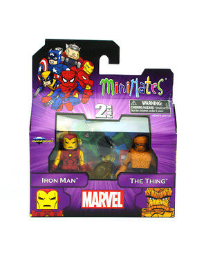 Marvel Minimates Iron Man & The Thing Best Of Series 1 New In (Best Iron Man Toys)