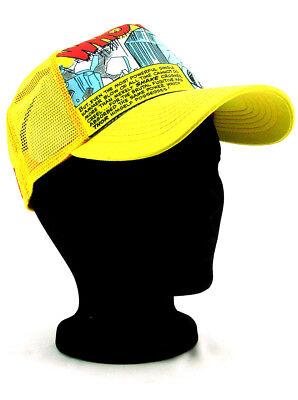New Era The Mighty Thor Adjustable Hat Marvel Comics Heroes Yellow Orange NWT (Marvel Thor Hat)