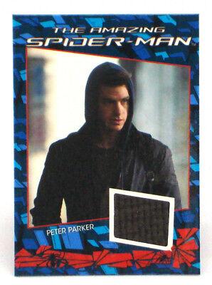2012 Amazing Spider-Man Costume Card Relic Peter Parker Sweatshirt Marvel CC6
