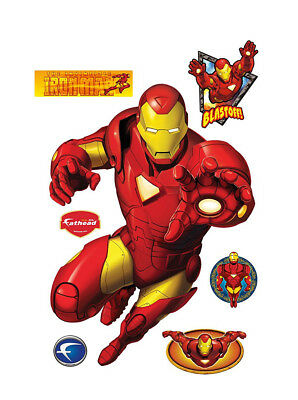 Fathead Iron Man Classic Marvel Comics Real Big Wall Decor Avengers New 96-96009