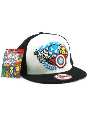 pretty nice 64ecf ccf4e New Era Tokidoki Marvel Heroes 9fifty Snapback Hat Adjustable Simone Legno  NWT