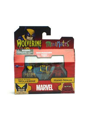 Marvel Minimates Ninja Attack Wolverine & Hand Ninja Wave 72 Wolverine X-Men New